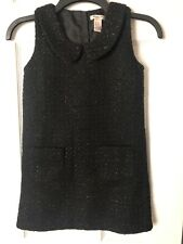Forever 21 Girl's Dress, Fully Lined, Sleeveless, Front Pockets, Black, Size S