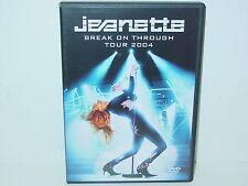 """*****DVD-JEANETTE""""BREAK ON THROUGH TOUR 2004""""-Universal Music DoDVD*****"""