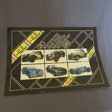 191F Catalogue Maquette Heller 1981 de 12 Pages 29,7 X 20,5 cm