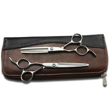 """6"""" Left Handed Salon Hairdressing Scissors Barber Hair Cutting Styling with Case"""