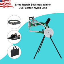 New listing Diy Shoe Repair Machine Making Sewing Hand Manual Cotton/Leather/Nylon Needle