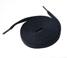 Schnürsenkel Flachsenkel Schuhbänder schwarz Größe 140 cm