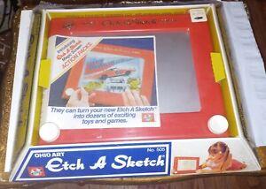 VINTAGE ETCH A SKETCH Ohio Art No. 505 brand new dukes of Hazzard promo 1980s