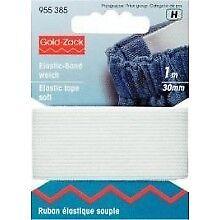 Prym Elastic-Band  Breite 30 mm Gummilitze Elastic Gummiband 955385