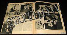 ED STRANGLER LEWIS 1950 WRESTLING PICTORIAL BOB WATERFIELD RAMETTE DONNA GIBSON