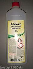 1 Liter Kluthe Salzsäure 24%, Reiniger, Rostschutz