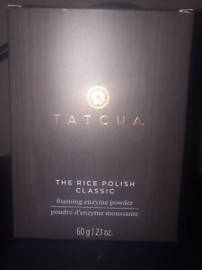 Tatcha The Rice Polish Classic Foaming Enzyme Powder Exfoliant 2.1 oz BRAND NEW