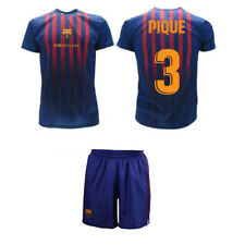 Completo Pique 2019 Barcelona Oficial 2018 Fcb Camiseta Pantalones Cortos
