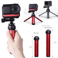 For GoPro Hero 9 Insta360 Action Camera Alloy Tripod Desktop Stand Selfie Stick