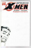 ASTONISHING X-MEN #17, NM-, Sketch Variant, Joss Whedon, 2004, more in store
