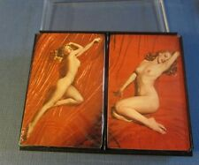Original Old Vintage 1976 MARILYN MONROE Double Deck PLAYING CARDS - PINUP