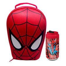 MARVEL AVENGERS-SPIDER-MAN EVA 3D borsa pranzo e bevande possano * NUOVA *