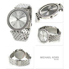 NEW GENUINE MICHAEL KORS MK3190 DARCI SILVER DIAL BRACELET WOMENS WATCH UK