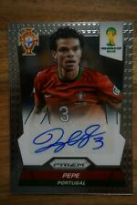 2014 Panini Prizm World Cup Signature Pepe Portugal Real Legend