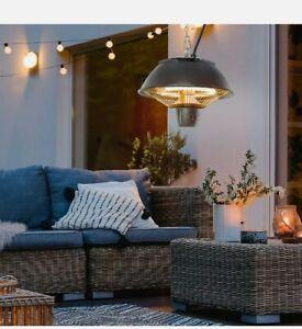 & Patio Ceiling Heater Hanging Indoor Tent Halogen Outdoor Electric 600W 3:21