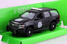 Chevrolet Tahoe Police 2008 Polizei 1:24 Welly  Modellauto