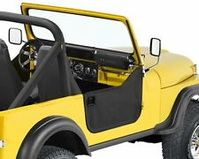 Jeep CJ7 Set Half doors Half Door Black Crush Bestop 76-80
