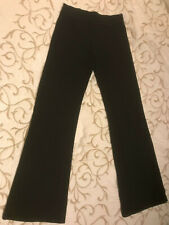 Capezio Black Leggings - Girls Size M - Nice - Primo