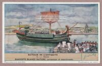 Rome Roman  Bateaux Sailing Ship Old Ancient Historic 60+ Y/O Trade Ad Card