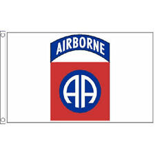 82Nd Airborne Flag 5Ft X 3Ft Us Military Para Troop Division Army Banner New