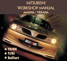 MITSUBISHI MAGNA 1995-2004 WORKSHOP REPAIR SERVICE MANUAL CD *FAST POST*