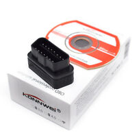 12V OBDII OBD2 Diagnostic Scanner Bluetooth ELM327 Car Diagnostics Tool New