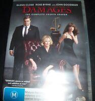 Damages The Complete Fourth Season 4 (Australia Region 4) DVD – New