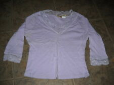 Nice Purple Lace Shirt S TS-56