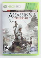 Assassin's Creed III (Microsoft Xbox 360, 2012) Free Shipping