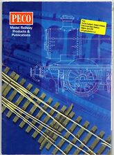 Peco Model Railway Accessories 2007 UK Market Sales Brochure