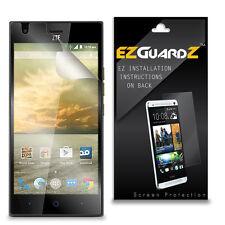 4X EZguardz LCD Screen Protector Skin Cover Shield HD 4X For ZTE Warp Elite