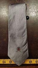 Tommy Hilfiger Gray Stripe Silk Designer Mens Necktie Tie Free Shipping
