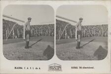 FOOTBALL BLAZINA C.A.S.L. DE A. FUTBOL TRI-DIMENSIONAL DOUBLE VIEW CASLA R. FOTO