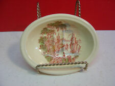 Royal Staffordshire SAFE HARBOUR Red/Multi Color Relish?/SOAP? Dish