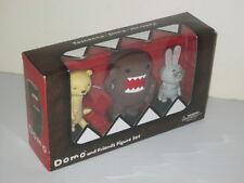 DOMO TASHANNA BEAR MR USAJI BUNNY RABBIT JAPANESE CHARACTER BOXED SET/3 FIGURES