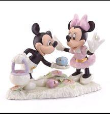 Lenox Mickey's Easter Egg Hunt Minnie Disney Figurine *New in Box*