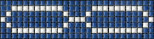 6pcs 300mm Feature Mosaic Tile Borders - Pool - BBQ