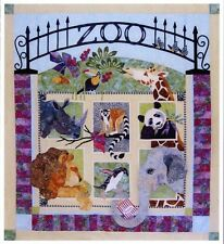 Java House Zoo It Yourself BOM Animal Quilt 7 Pattern Set Karen Brow