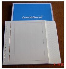 50 Neutrale Albenblätter PRIMUS A  mit zartgraues Netz  LEUCHTTURM  Nr.: 304004