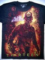 BLACK SABBATH T-Shirt RARE Embroidered Logo Ozzy Osbourne Dio Judas Priest Metal