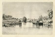 Sir Francis Seymour Haden original etching
