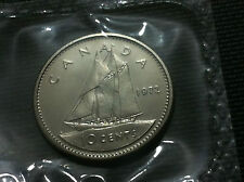 CANADA COIN- 10 CENTS 1972 - UNCIRCULATED !!
