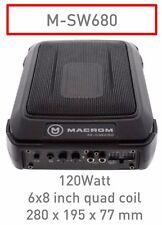 """Macrom M-SW680 Subwoofer compatto 6x9"""" quad coil - 120W  Nuovo imballato"""