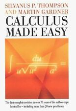 CALCULUS MADE EASY - NEW HARDCOVER BOOK