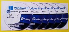 HP Pavilion g7-2318nr Factory Recovery Media 6-Discs / Windows 8 64-bit