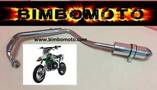 marmitta minimoto 4 tempi mini moto cross 49cc