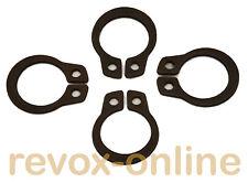 Seegerringe, Anneaux élastiques pour tous les revox b77, 4 unités