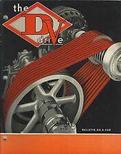MRO Catalog - Dodge - D-V Drive - V-Belt Flat Sheave - 1941 - Brochure (MR166)