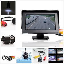 "4.3"" voiture écran affichage Monitor+712(H)×486(V) Pixel infrarouge de Vision nocturne caméra"