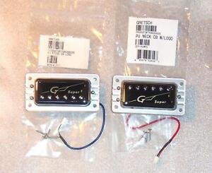 Gretsch® Super HiLo'Tron Bridge & Neck Pickup Set~49mm~Bezels Included~Brand New